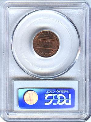 1990-D Lincoln Cent Struck on a 3 1g Copper Planchet - Pre