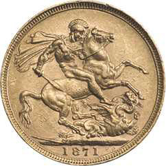 1871 Sovereign